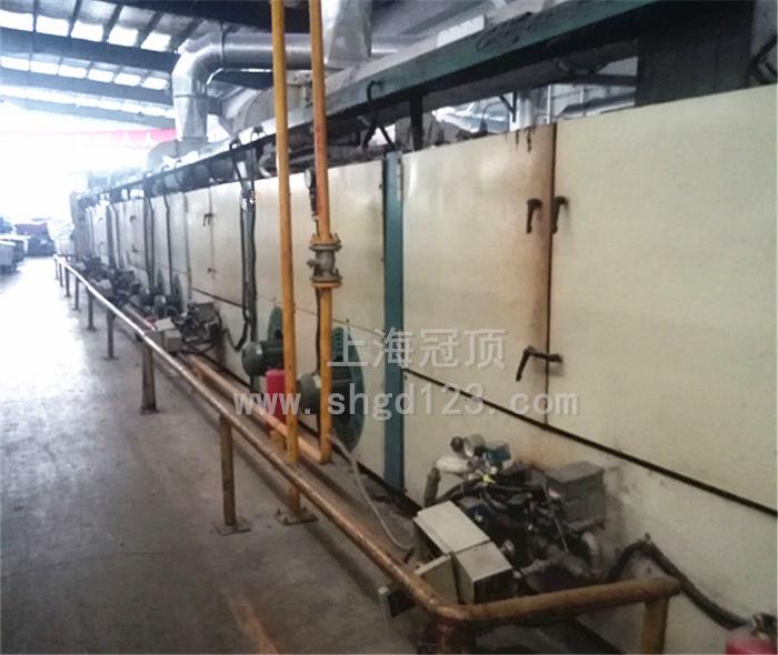 纺织品燃气隧道炉烘干线