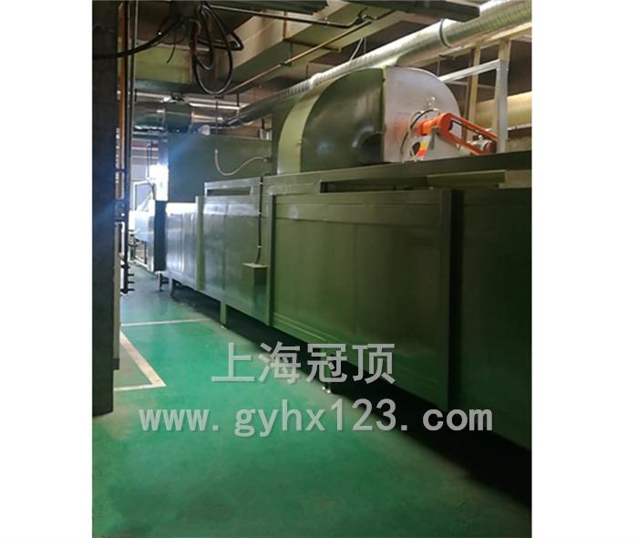 燃气热风循环隧道炉